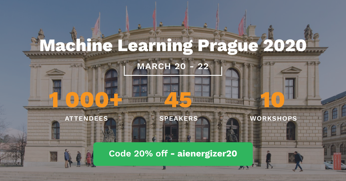Presenting our new open-source project, AICells at the Machine Learning Prague 2020 Conference!